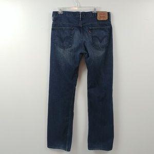 Levis 569 Mens Jeans Size 34x36 Measures 34x34